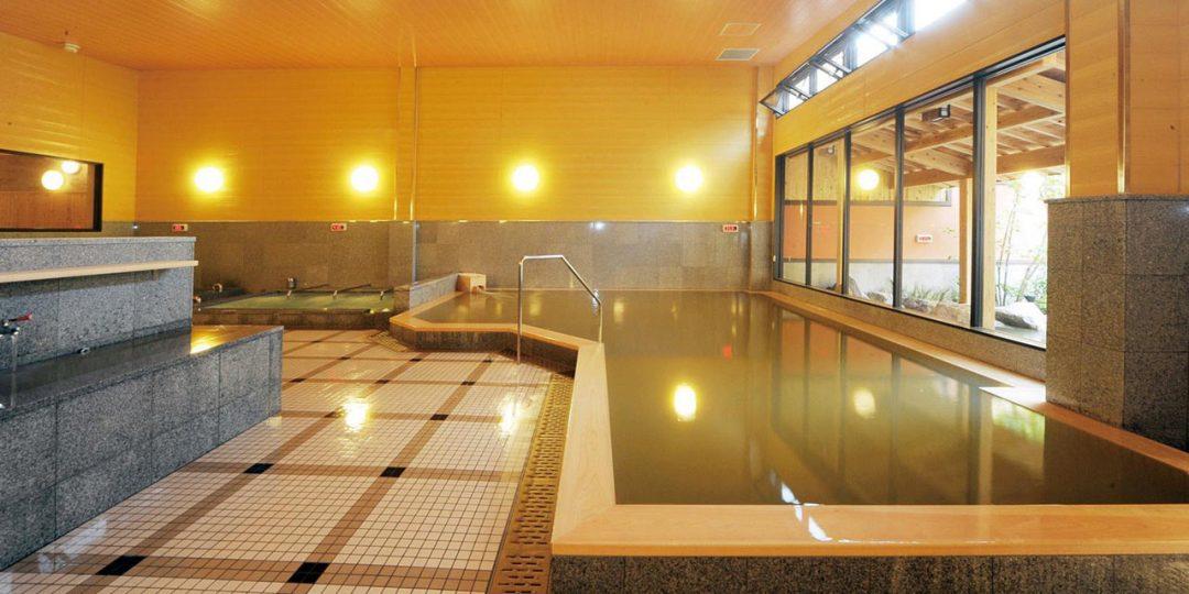 「天然温泉天の川」の大浴場