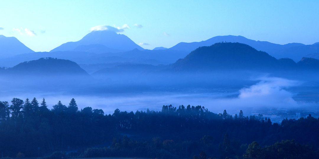 宇佐市・安心院の朝霧