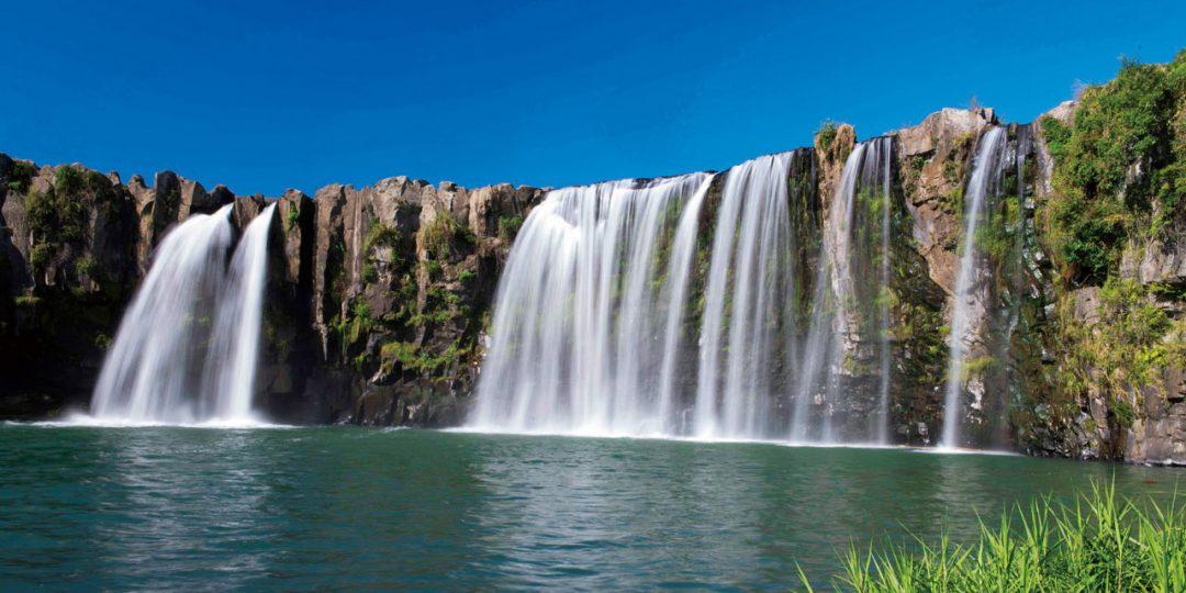 豊後大野市の原尻の滝