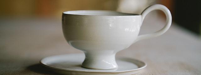 しらゆりカップアンドソーサー