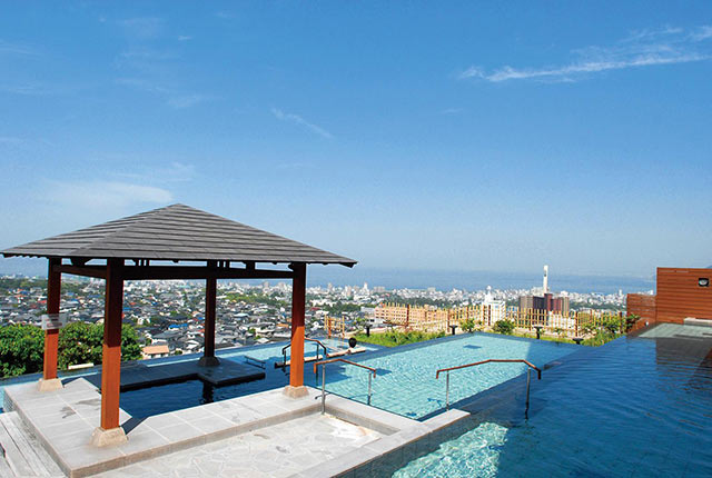 杉乃井ホテルの大眺望露天風呂