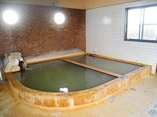 金屋温泉の内湯