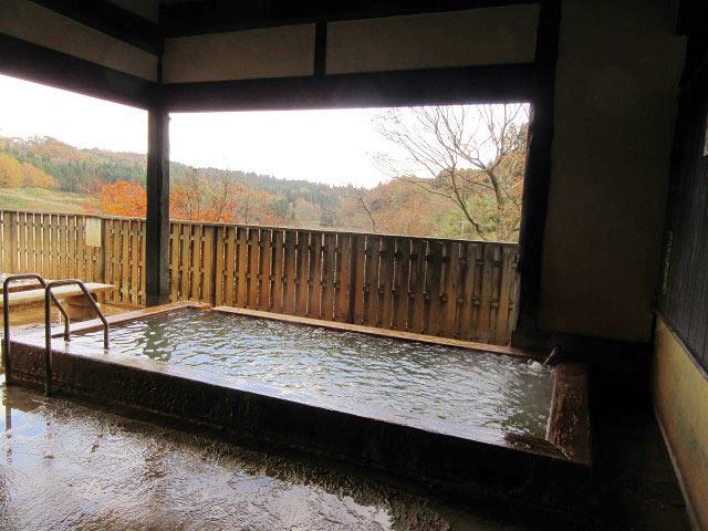 め組茶屋の露天風呂