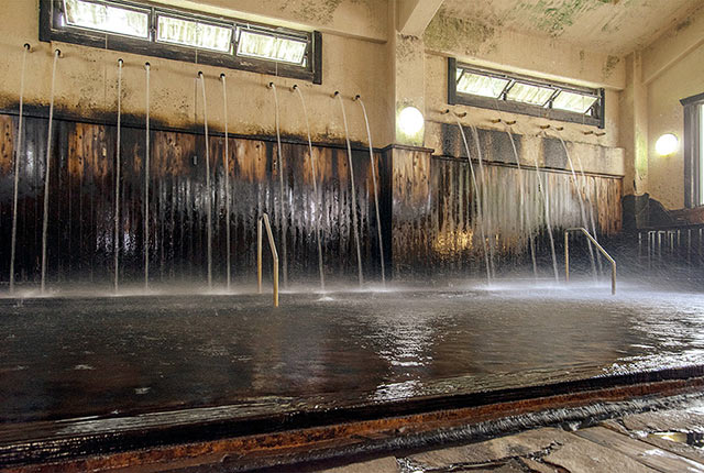 筋湯温泉うたせ大浴場