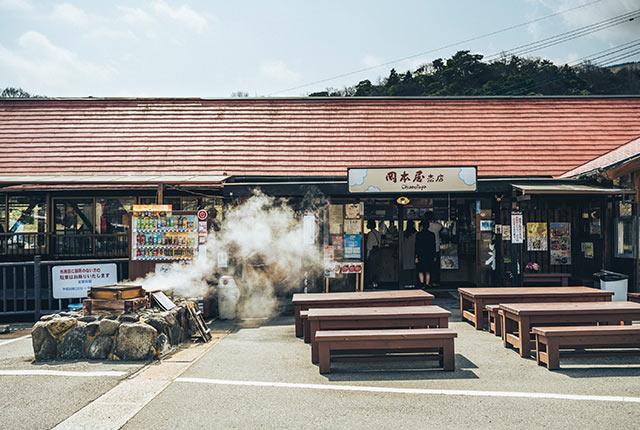 岡本屋売店の外観