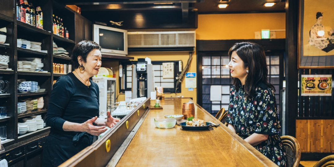 〈チョロ松〉の森宏子さんと宇賀なつみさん