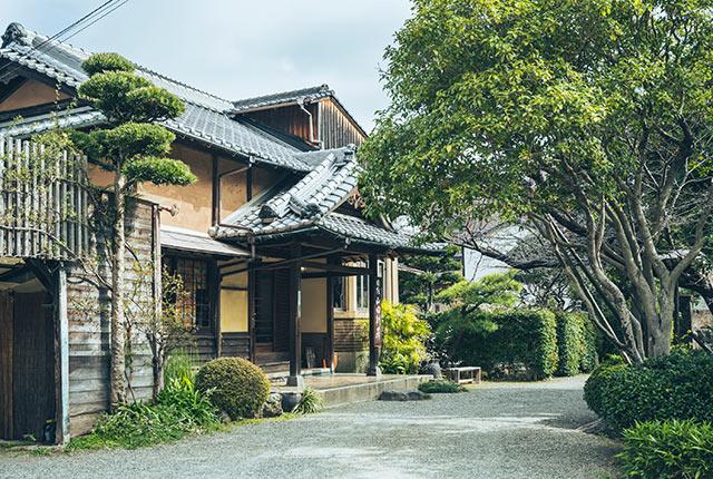 山田別荘の外観