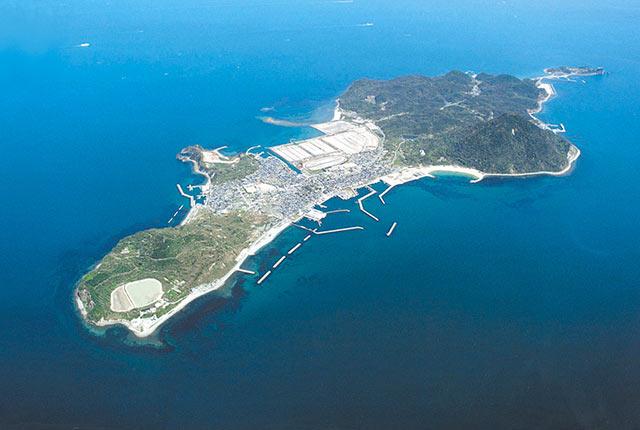 大分県姫島の全景写真