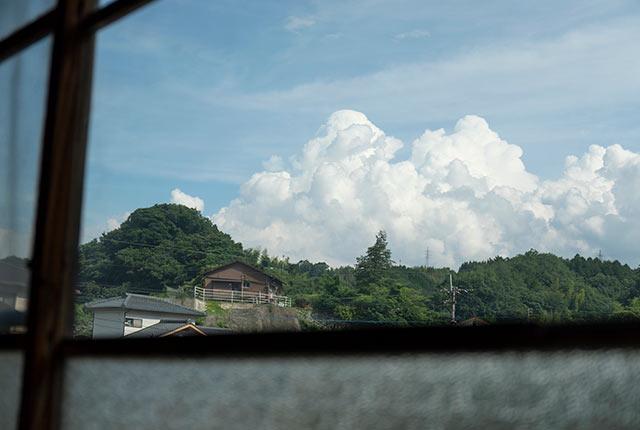 2階からの竹田の眺め