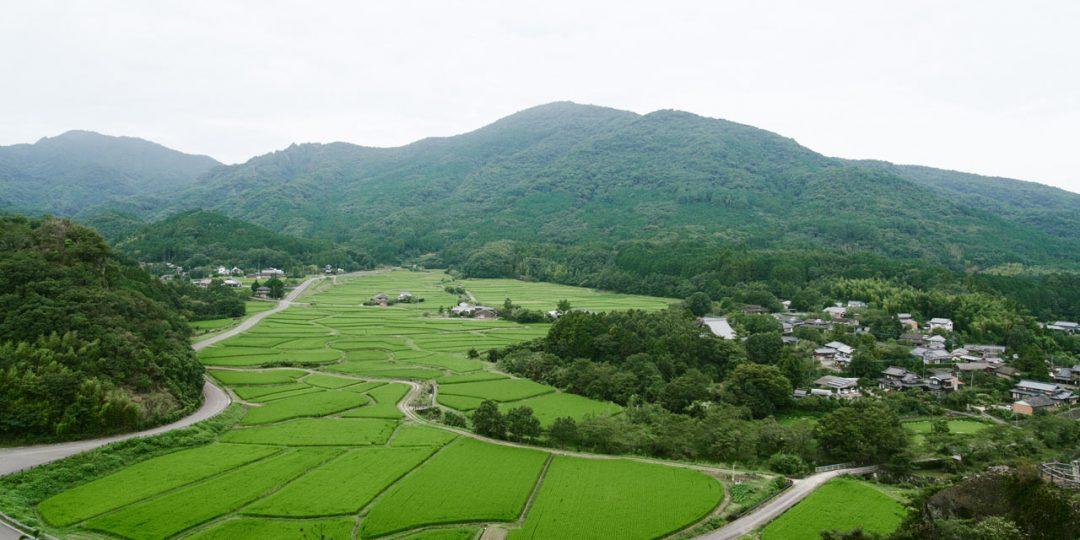 田染荘の田園風景